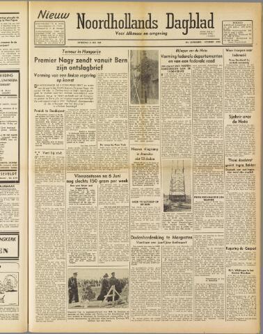 Nieuw Noordhollandsch Dagblad : voor Alkmaar en omgeving 1947-05-31