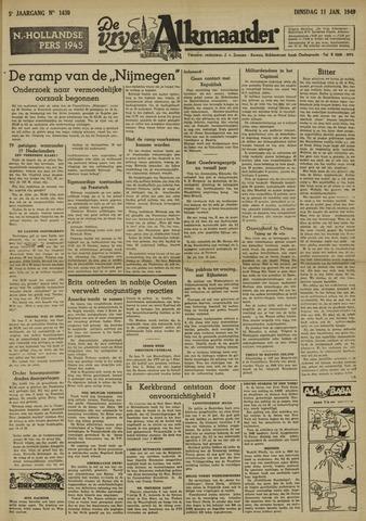 De Vrije Alkmaarder 1949-01-11