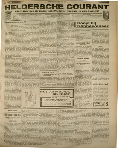 Heldersche Courant 1931-10-24