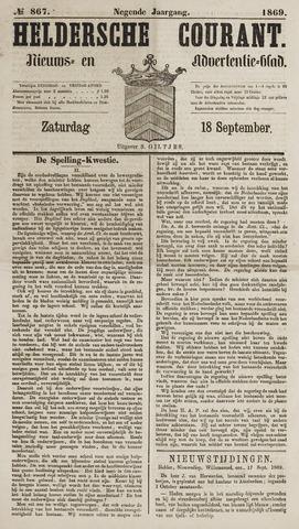 Heldersche Courant 1869-09-18