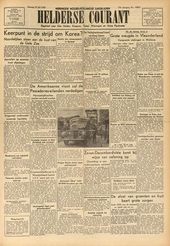 Heldersche Courant 1950-07-25