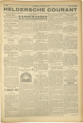 Heldersche Courant 1927-10-13