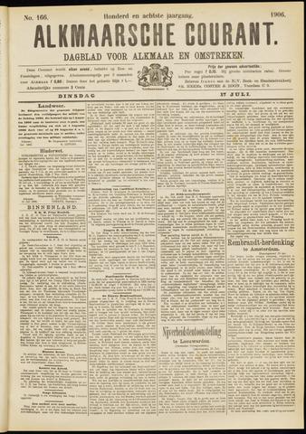 Alkmaarsche Courant 1906-07-17