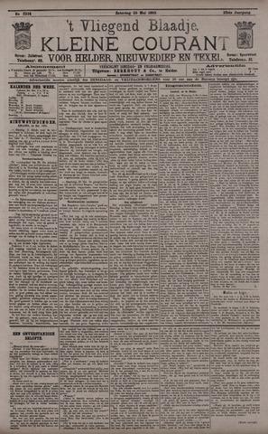 Vliegend blaadje : nieuws- en advertentiebode voor Den Helder 1895-05-25