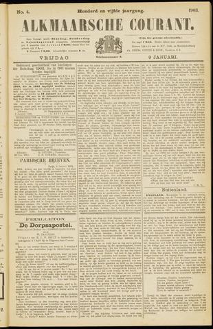 Alkmaarsche Courant 1903-01-09
