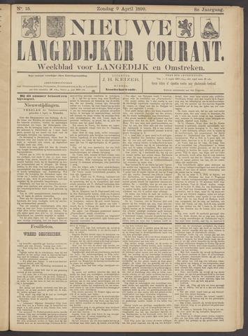 Nieuwe Langedijker Courant 1899-04-09
