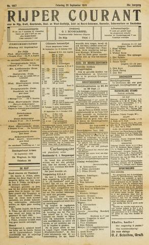 Rijper Courant 1945-09-29