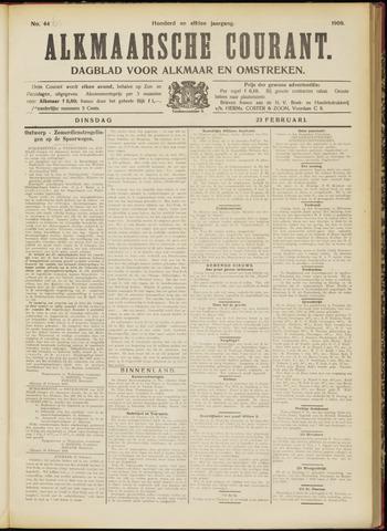 Alkmaarsche Courant 1909-02-23