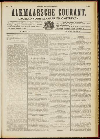 Alkmaarsche Courant 1909-11-29