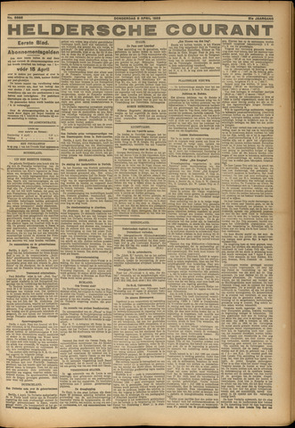 Heldersche Courant 1923-04-05