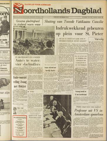 Noordhollands Dagblad : dagblad voor Alkmaar en omgeving 1965-12-08