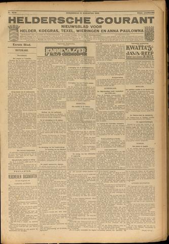Heldersche Courant 1926-08-12