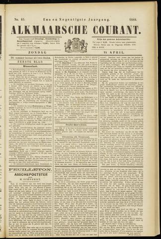 Alkmaarsche Courant 1889-04-14