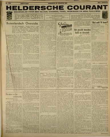 Heldersche Courant 1935-08-29