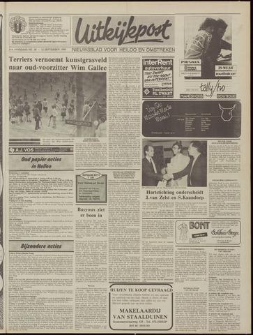 Uitkijkpost : nieuwsblad voor Heiloo e.o. 1986-09-10