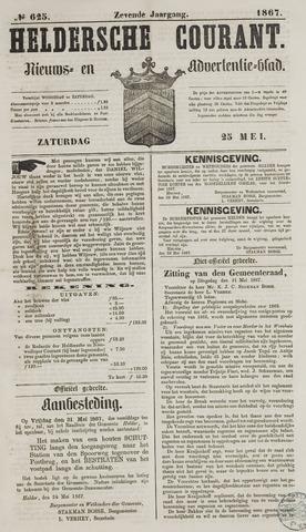 Heldersche Courant 1867-05-25