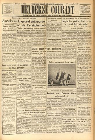 Heldersche Courant 1952-10-06