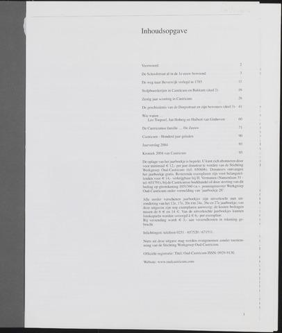 Jaarboek Oud Castricum 2005-11-01