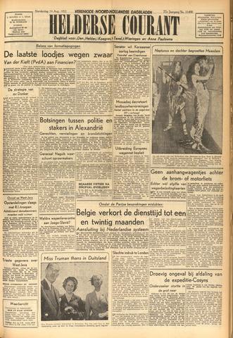 Heldersche Courant 1952-08-14