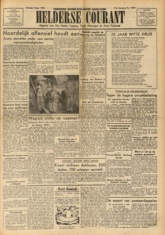 Heldersche Courant 1950-09-05