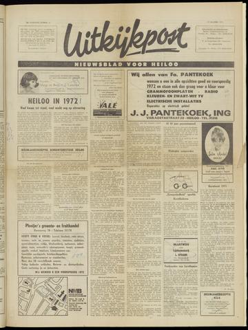 Uitkijkpost : nieuwsblad voor Heiloo e.o. 1971-12-29