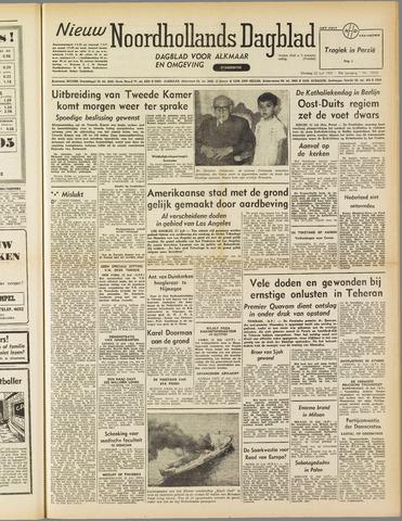 Nieuw Noordhollandsch Dagblad : voor Alkmaar en omgeving 1952-07-22
