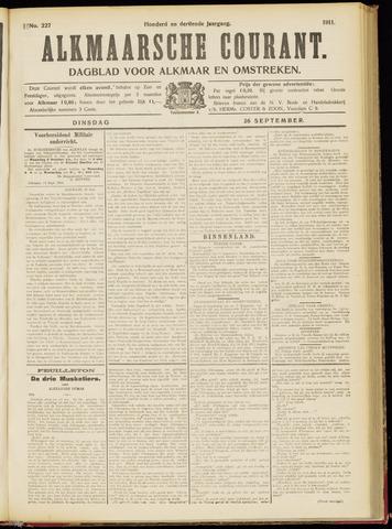 Alkmaarsche Courant 1911-09-26