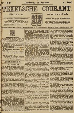 Texelsche Courant 1900-01-11