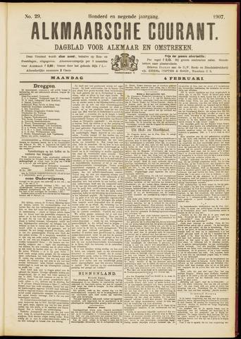 Alkmaarsche Courant 1907-02-04