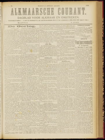 Alkmaarsche Courant 1916-04-03