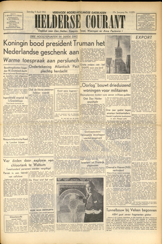 Heldersche Courant 1952-04-05