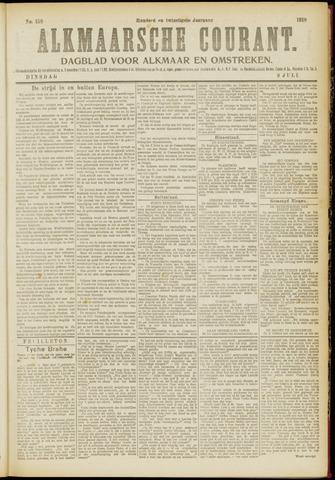 Alkmaarsche Courant 1918-07-09