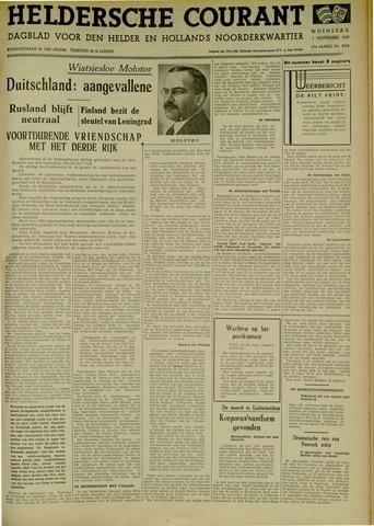 Heldersche Courant 1939-11-01