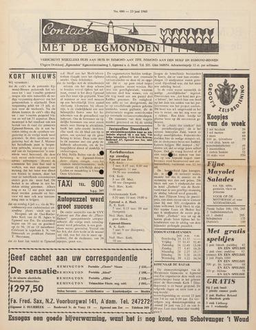 Contact met de Egmonden 1965-06-23
