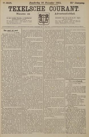 Texelsche Courant 1911-11-16