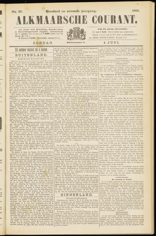 Alkmaarsche Courant 1905-06-04