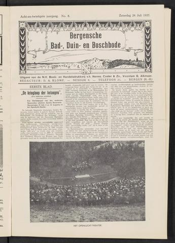 Bergensche bad-, duin- en boschbode 1937-07-24