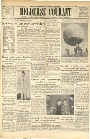 Heldersche Courant 1952-03-29