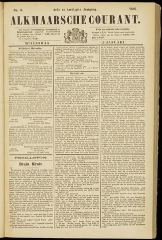 Alkmaarsche Courant 1886-01-13