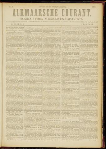 Alkmaarsche Courant 1919-01-09