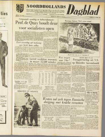 Noordhollands Dagblad : dagblad voor Alkmaar en omgeving 1959-04-04