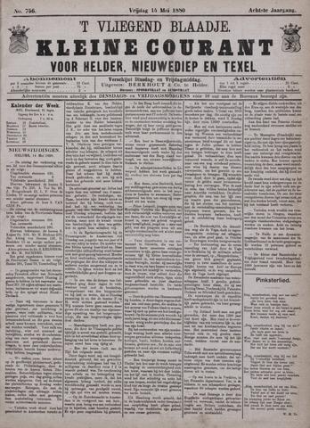 Vliegend blaadje : nieuws- en advertentiebode voor Den Helder 1880-05-14