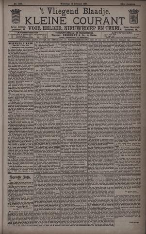 Vliegend blaadje : nieuws- en advertentiebode voor Den Helder 1894-02-14