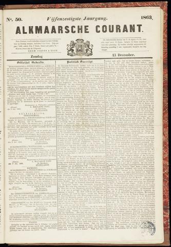 Alkmaarsche Courant 1863-12-13