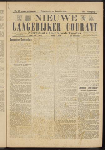 Nieuwe Langedijker Courant 1929-01-24