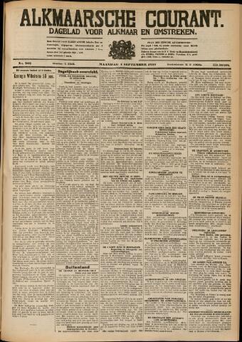 Alkmaarsche Courant 1930-09-01