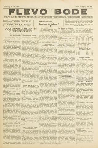 Flevo-bode: nieuwsblad voor Wieringen-Wieringermeer 1946-07-06