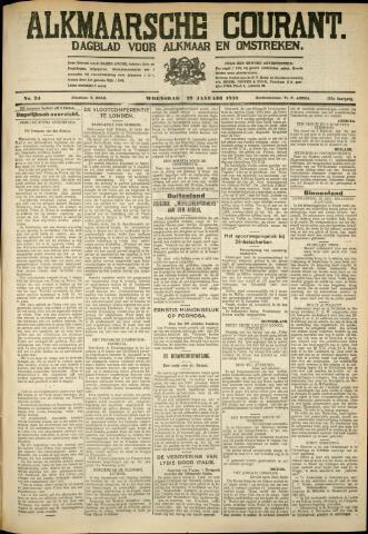 Alkmaarsche Courant 1930-01-29