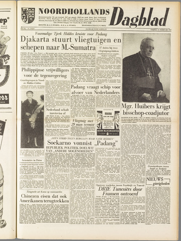 Noordhollands Dagblad : dagblad voor Alkmaar en omgeving 1958-02-21