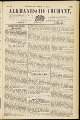 Alkmaarsche Courant 1905-03-24